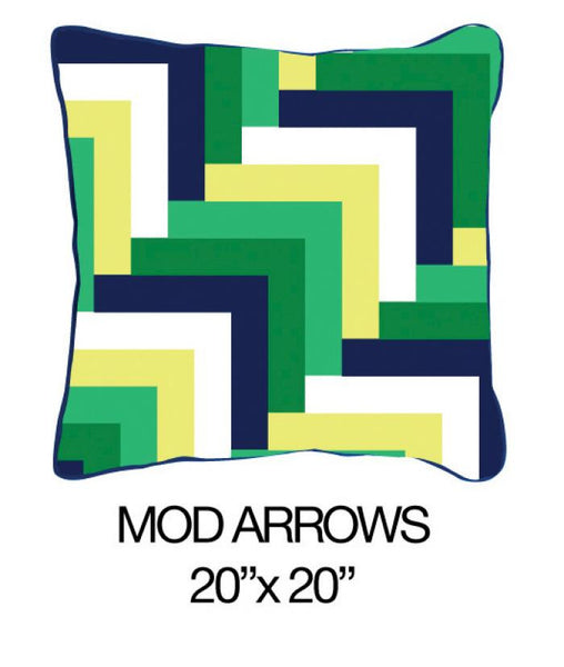 Zig Zag Multi Green / Orange / Yellow - ModShop1.com