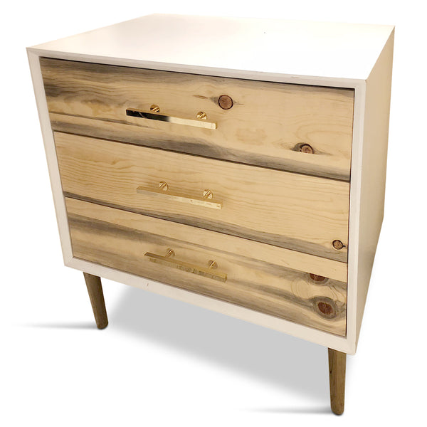 Belize 3 Drawer Side Table
