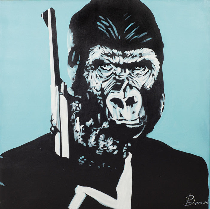 Ape 007 Original Artwork - ModShop1.com