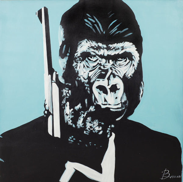 Ape 007 Original Artwork