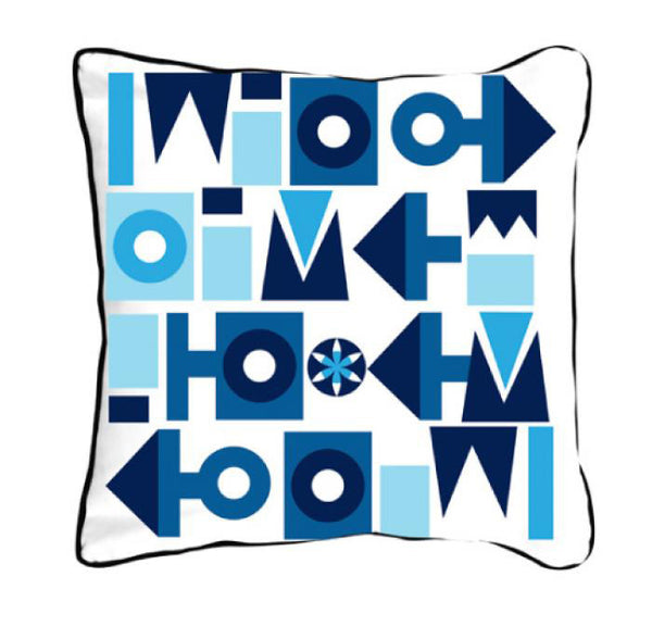 Scandinavian Shapes Blue - ModShop1.com