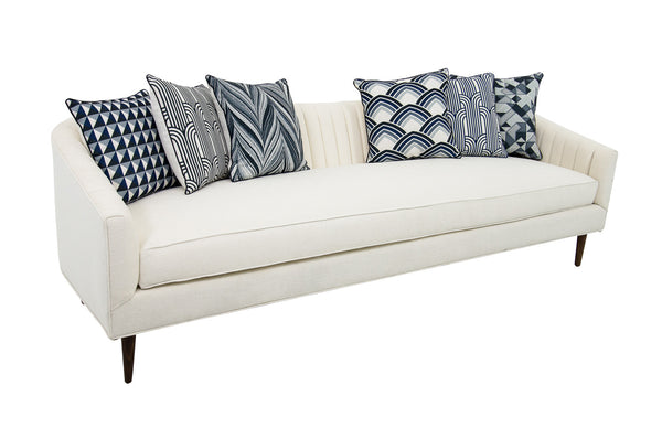 St. Barts Sofa in Sync Stardust Textured Linen