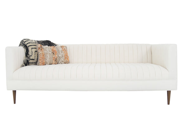 Manhattan Loveseat in Pure Sugar