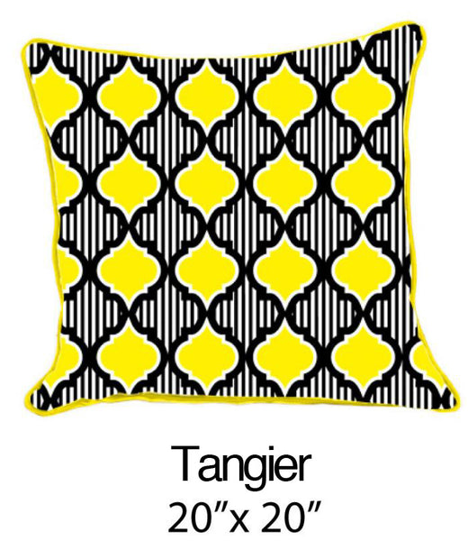 Tangier Yellow/White/Navy - ModShop1.com