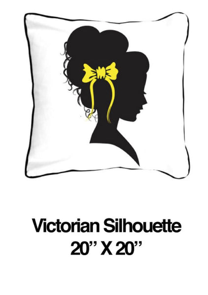 Victorian Silhouette Yellow