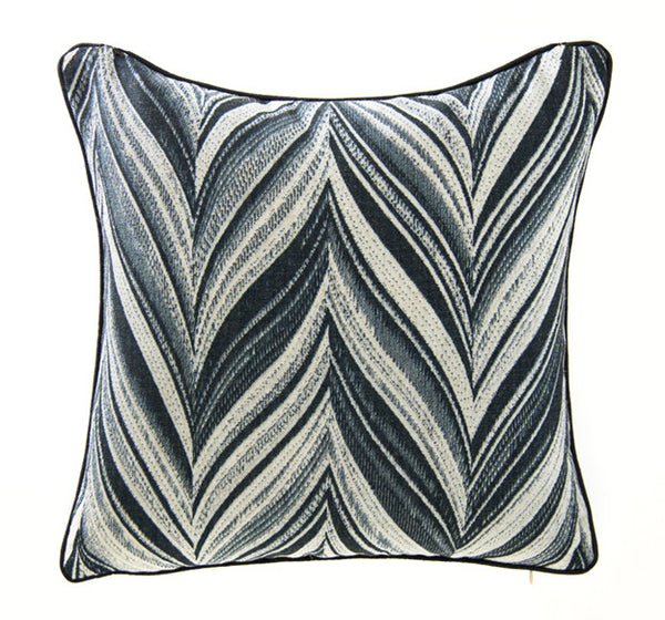 Feather Zigzag Black/White - ModShop1.com