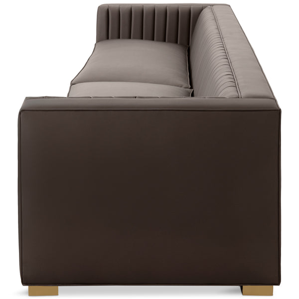 Acapulco Sofa in Faux Leather - ModShop1.com