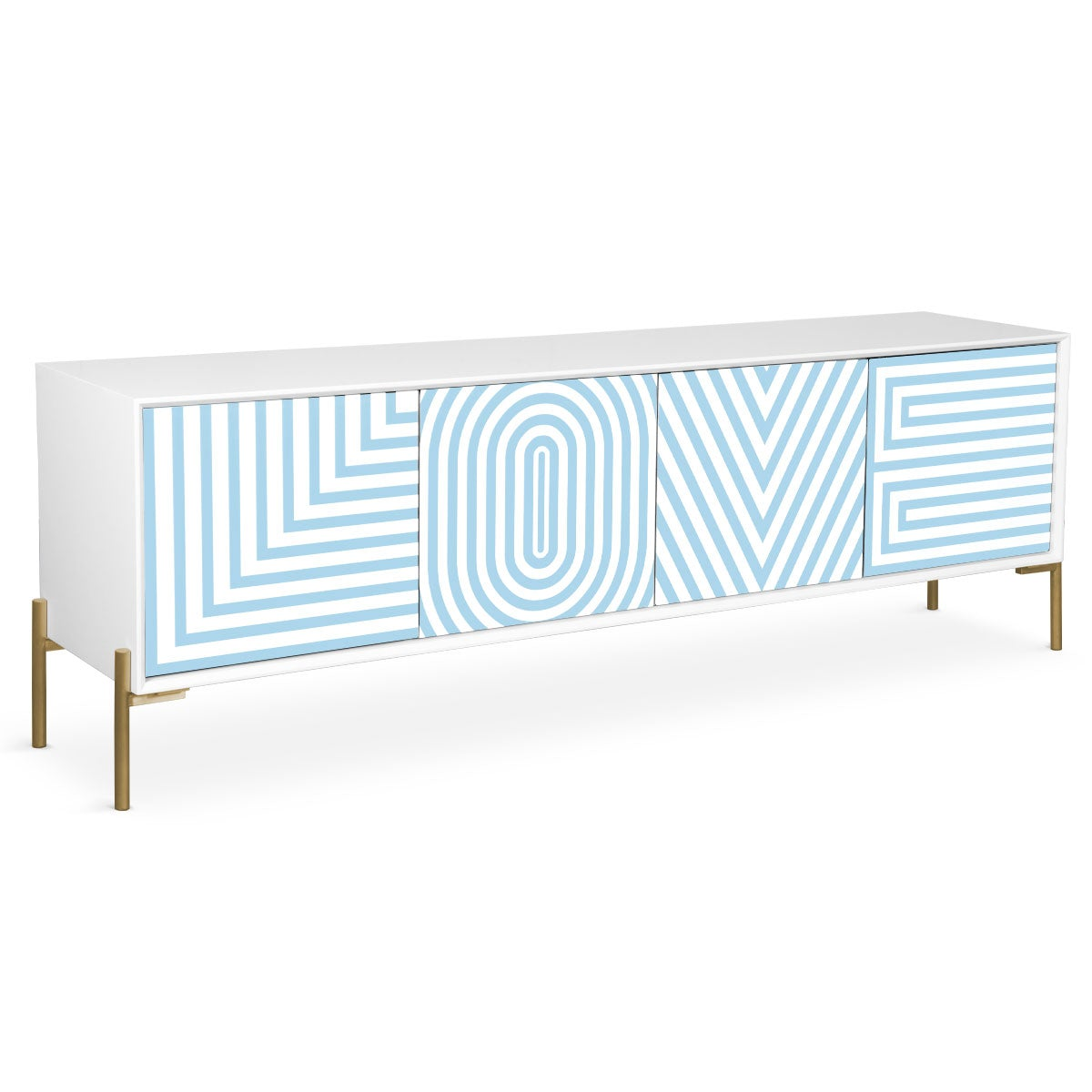 All You Need Is Love Credenza
