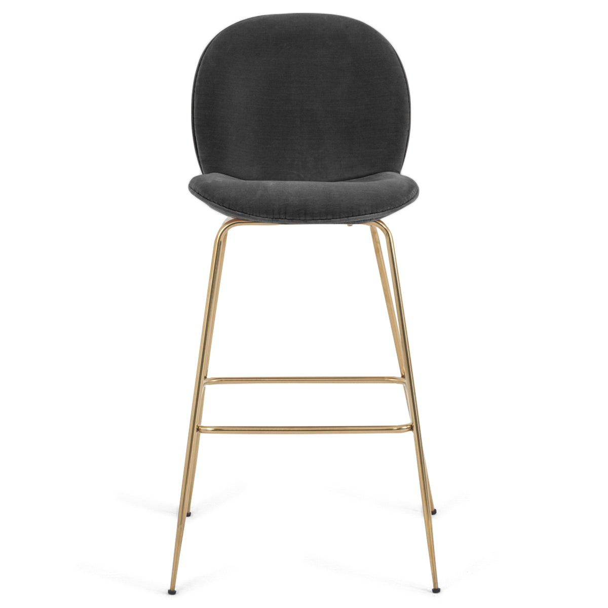 Amalfi Bar and Counter Stool in Velvet - ModShop1.com