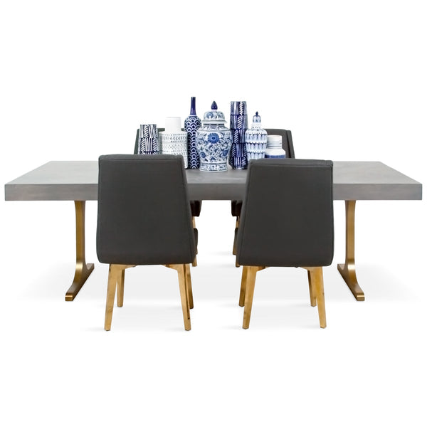 Amalfi Dining Table In Grey Wash   ModShop1.com