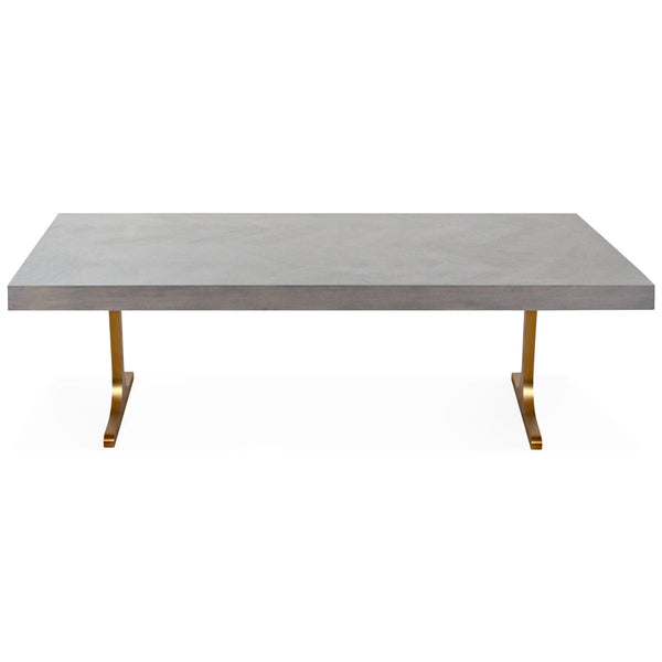 Amalfi Dining Table in Grey Wash - ModShop1.com