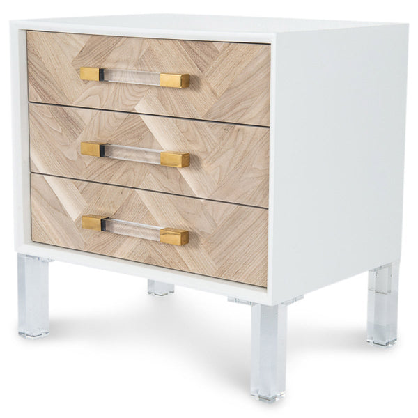 Amalfi 3 Drawer Side Table