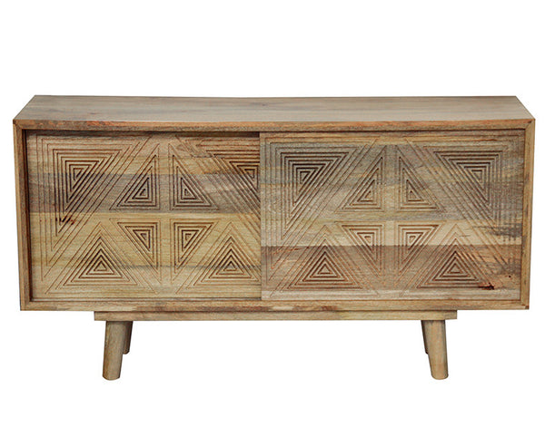 Angular Sideboard
