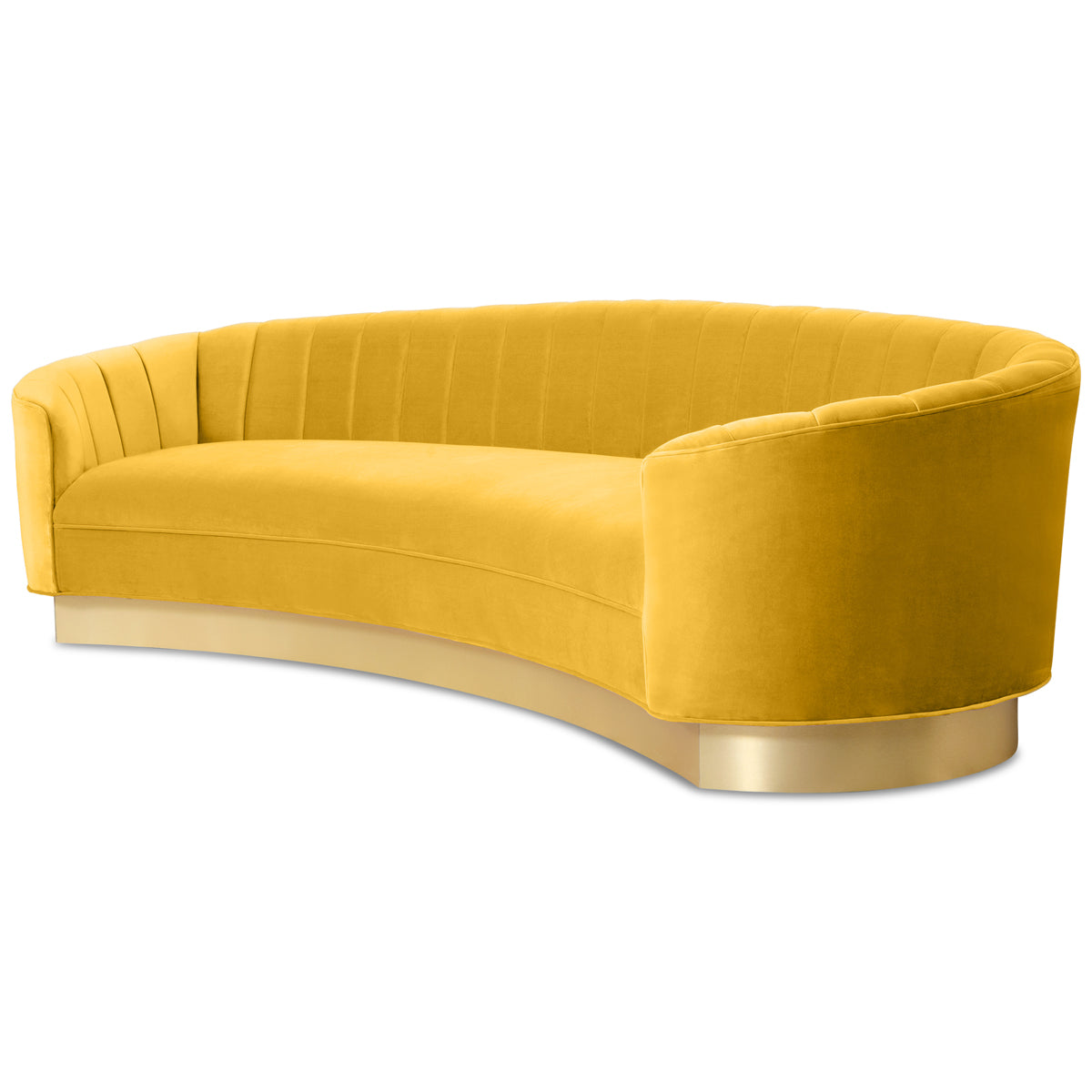 Art Deco 2 Sofa in Velvet - ModShop1.com