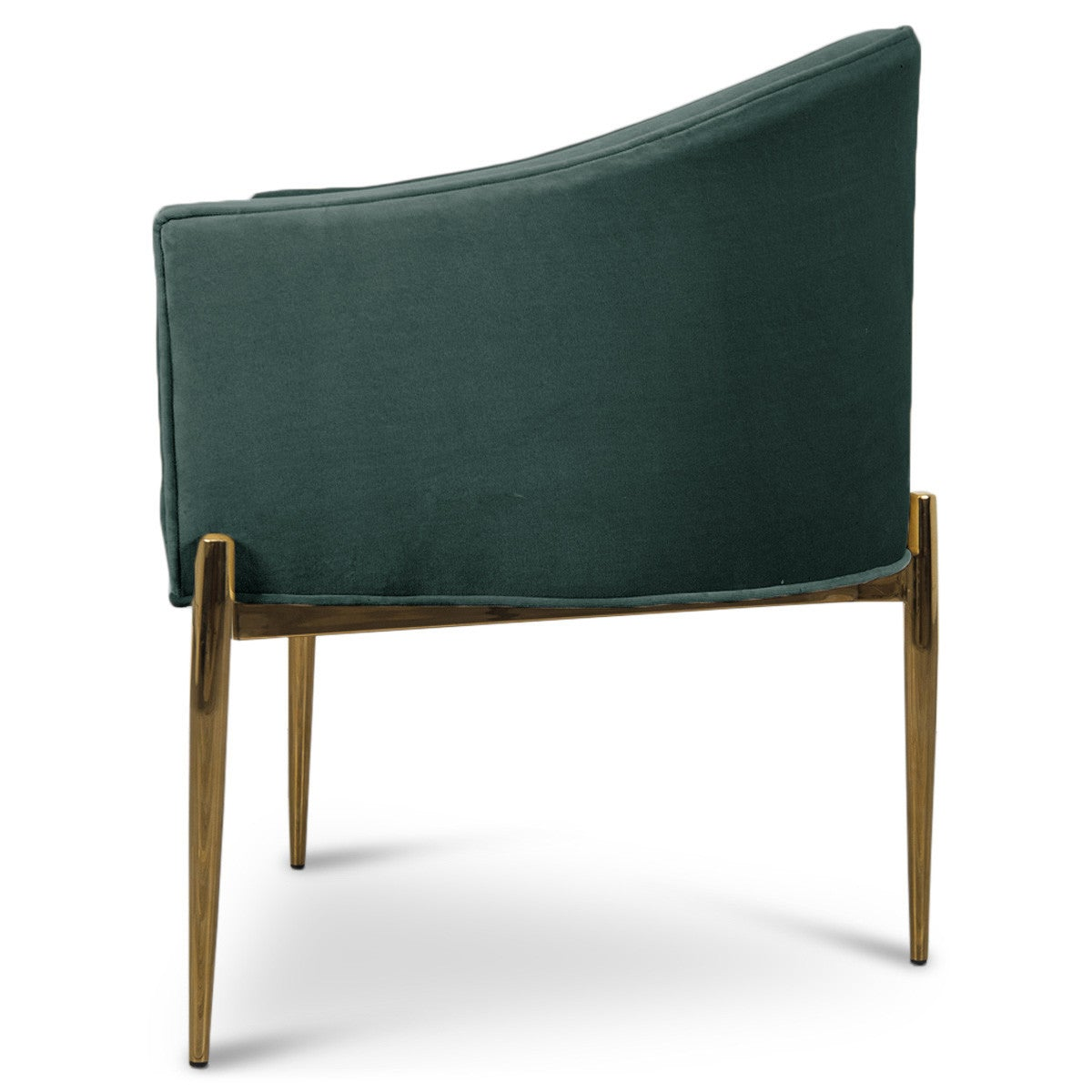 Art Deco Dining Chair in Velvet - ModShop1.com