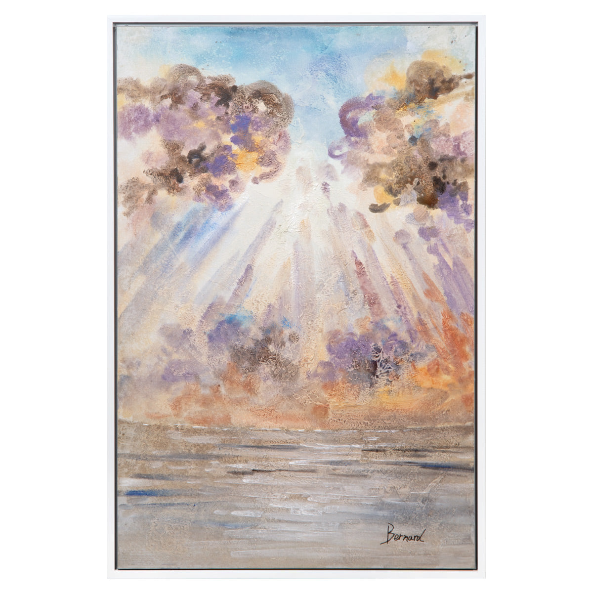 Watercolor Sunscape - ModShop1.com