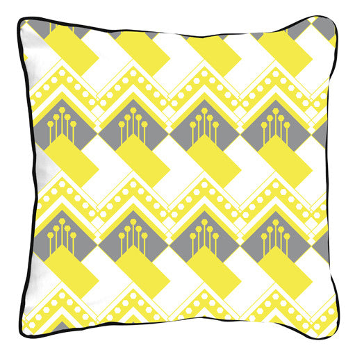 Art Deco Diamond Yellow