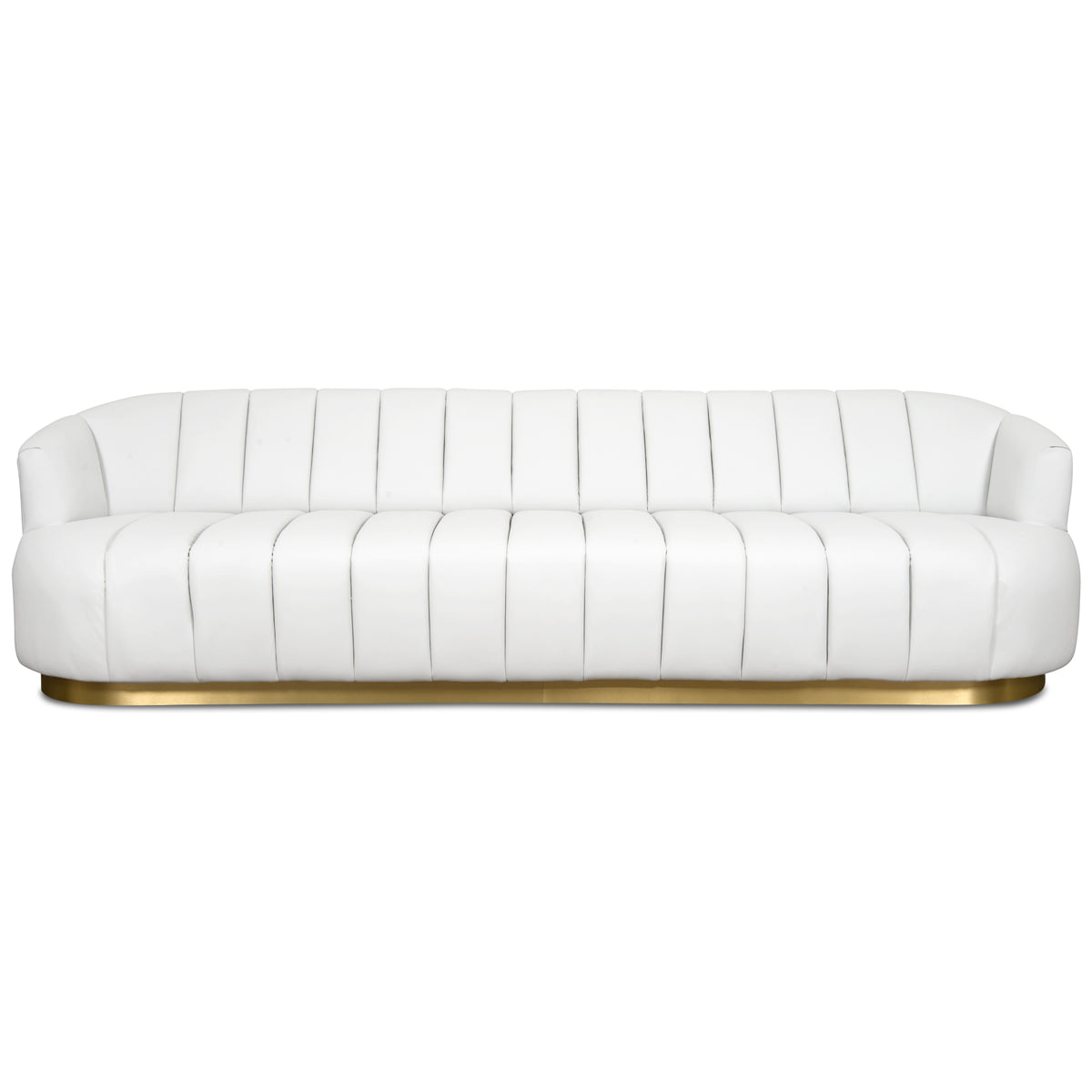 Avalon Sofa in Faux Leather - ModShop1.com