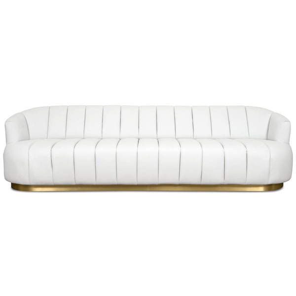 Avalon Sofa in Faux Leather