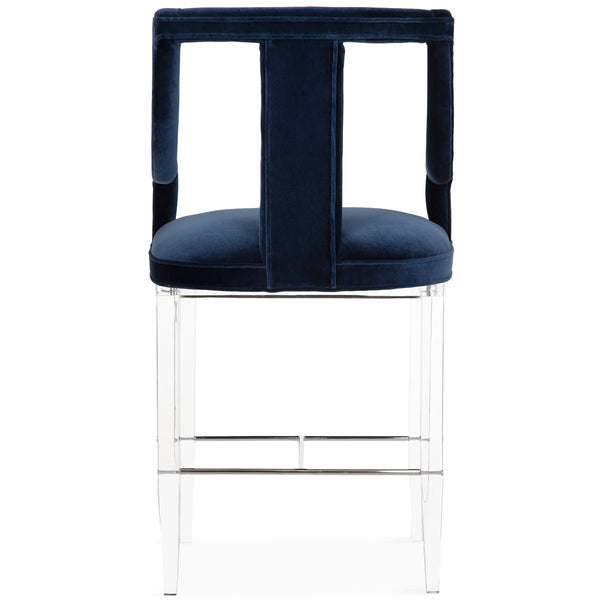 Barcelona Bar Stool with Lucite Base - ModShop1.com
