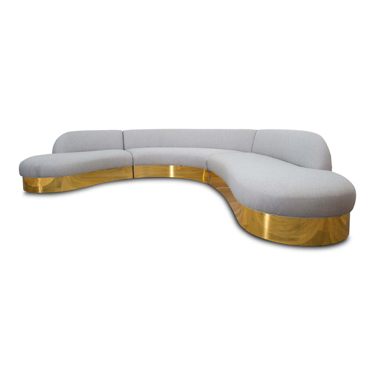 Biarritz Sectional in Linen - ModShop1.com