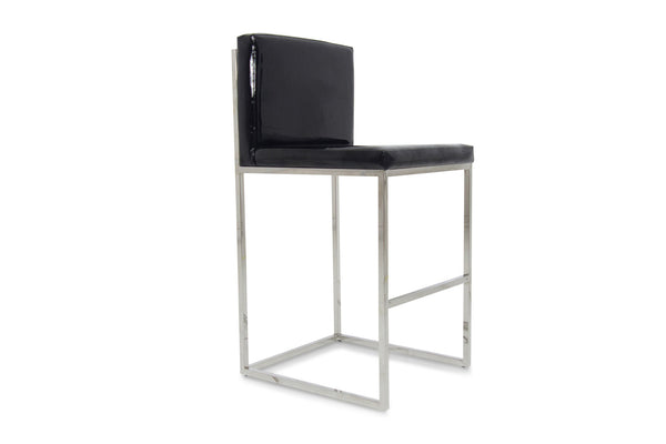 007 Bar Stool in Patent Leather