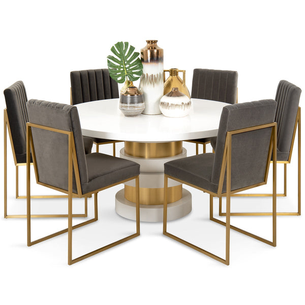 Boca Round Dining Table - ModShop1.com