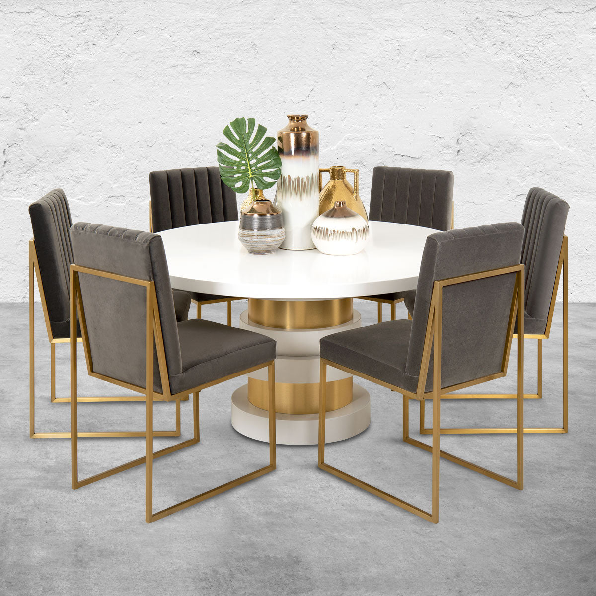 Boca Round Dining Table