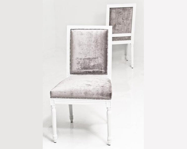 Bordeaux Dining Chair in Brussels Charcoal