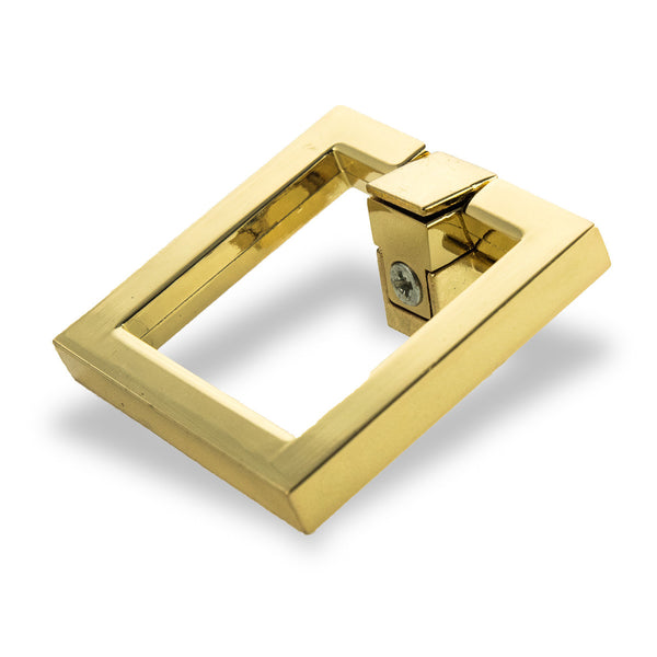 Brass Square Hardware, Small (Set of 2)