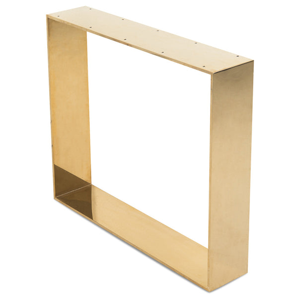 Brass U Legs (set of 2)
