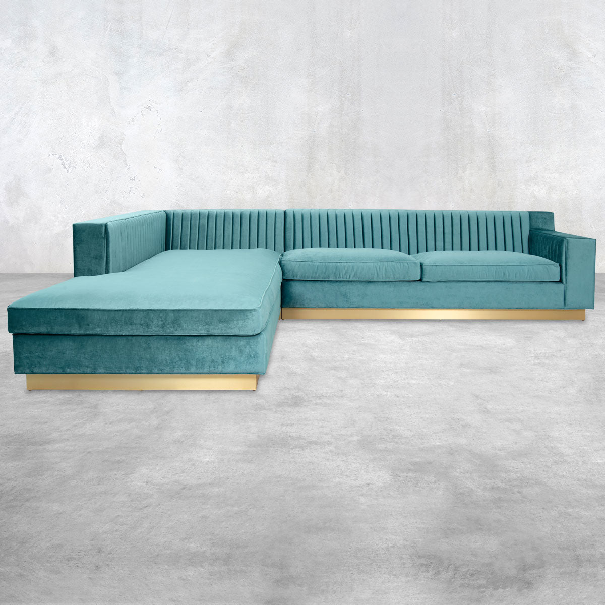 Buenos Aires Sectional with Left Facing Chaise