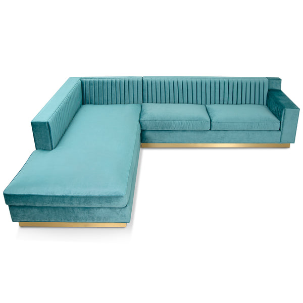 Buenos Aires Sectional with Left Facing Chaise - ModShop1.com