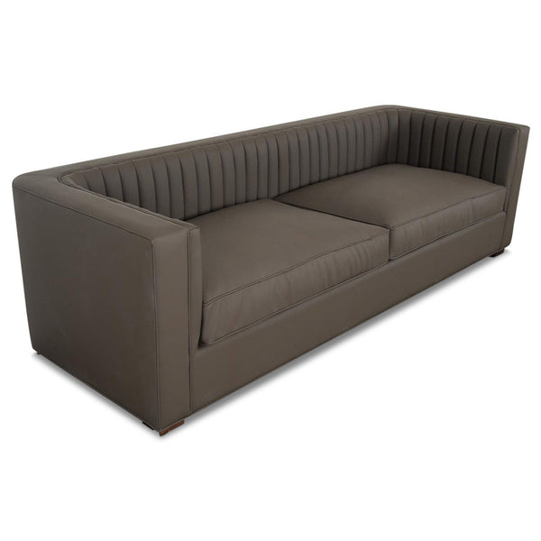 Buenos Aires Sofa in Lavish Grove Faux Leather - ModShop1.com