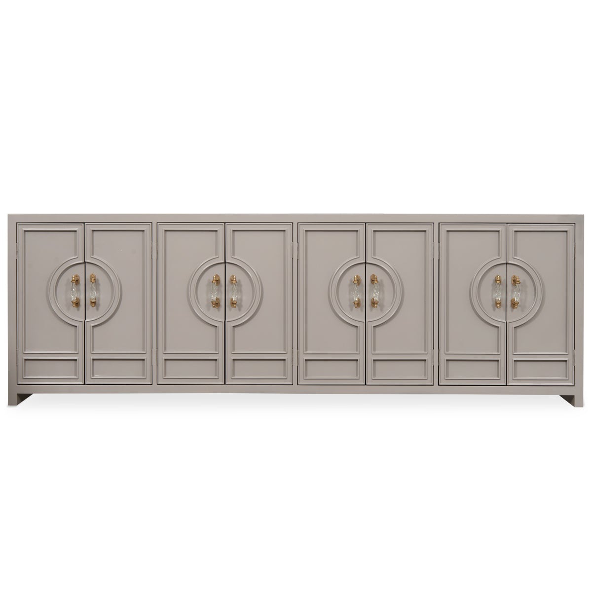 Beau Cannes 8 Door Tall Credenza
