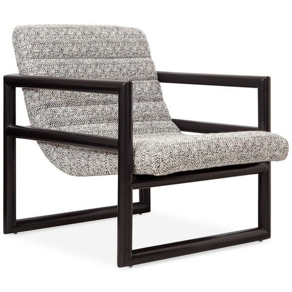 Cannes Occasional Chair in Textured Fabric - ModShop1.com