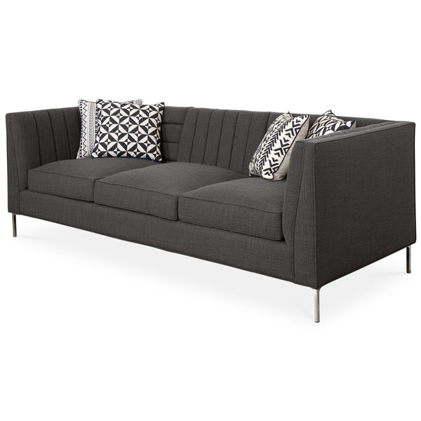 Capri Sofa in Charcoal Linen