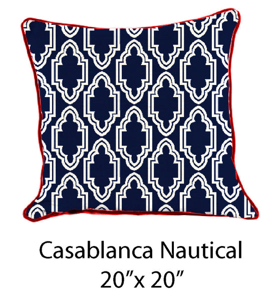 Casablanca Blue & White