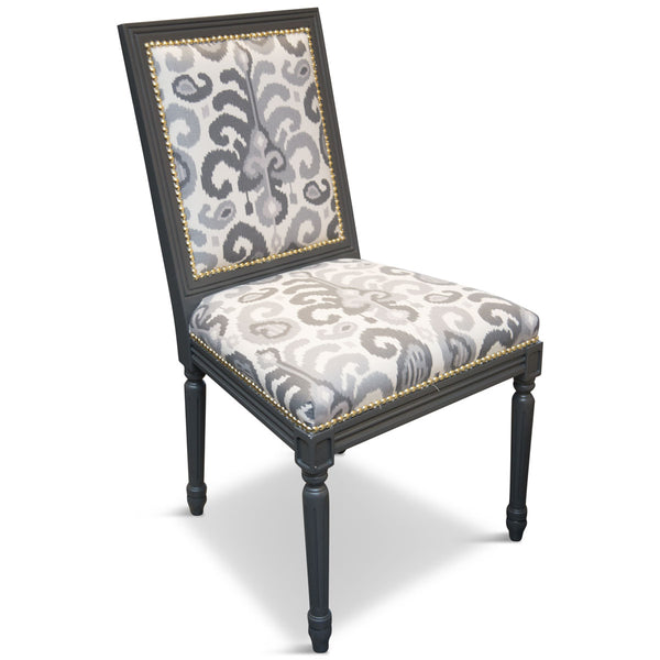 Bordeaux Dining Chair with Printed Fabric