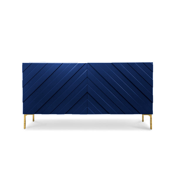 Chevron Two Door Credenza