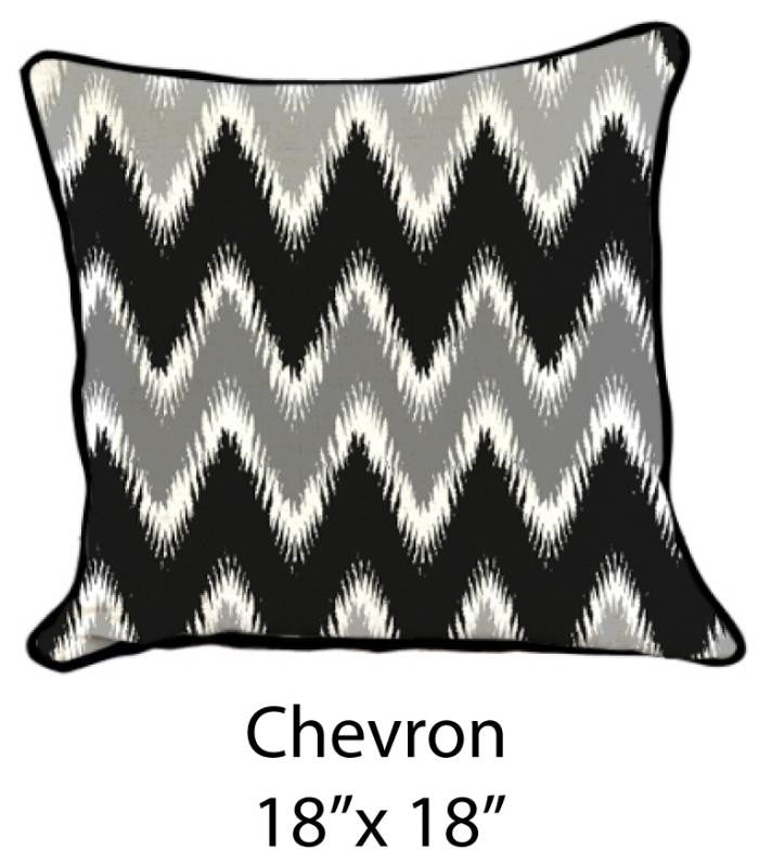Chevron Black/White/Gray - ModShop1.com