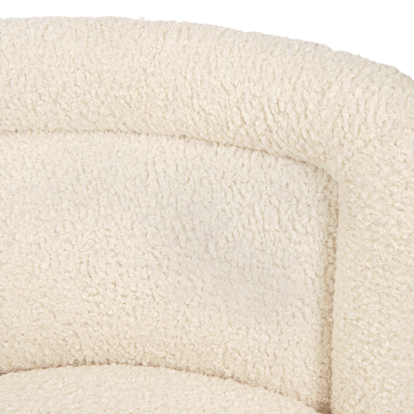 Chubby 2 Occasional Chair in Faux Sheepskin - ModShop1.com