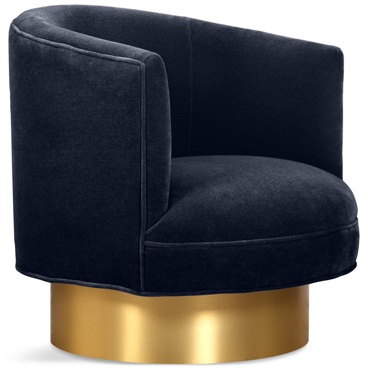 Club Chair in Mohair - ModShop1.com