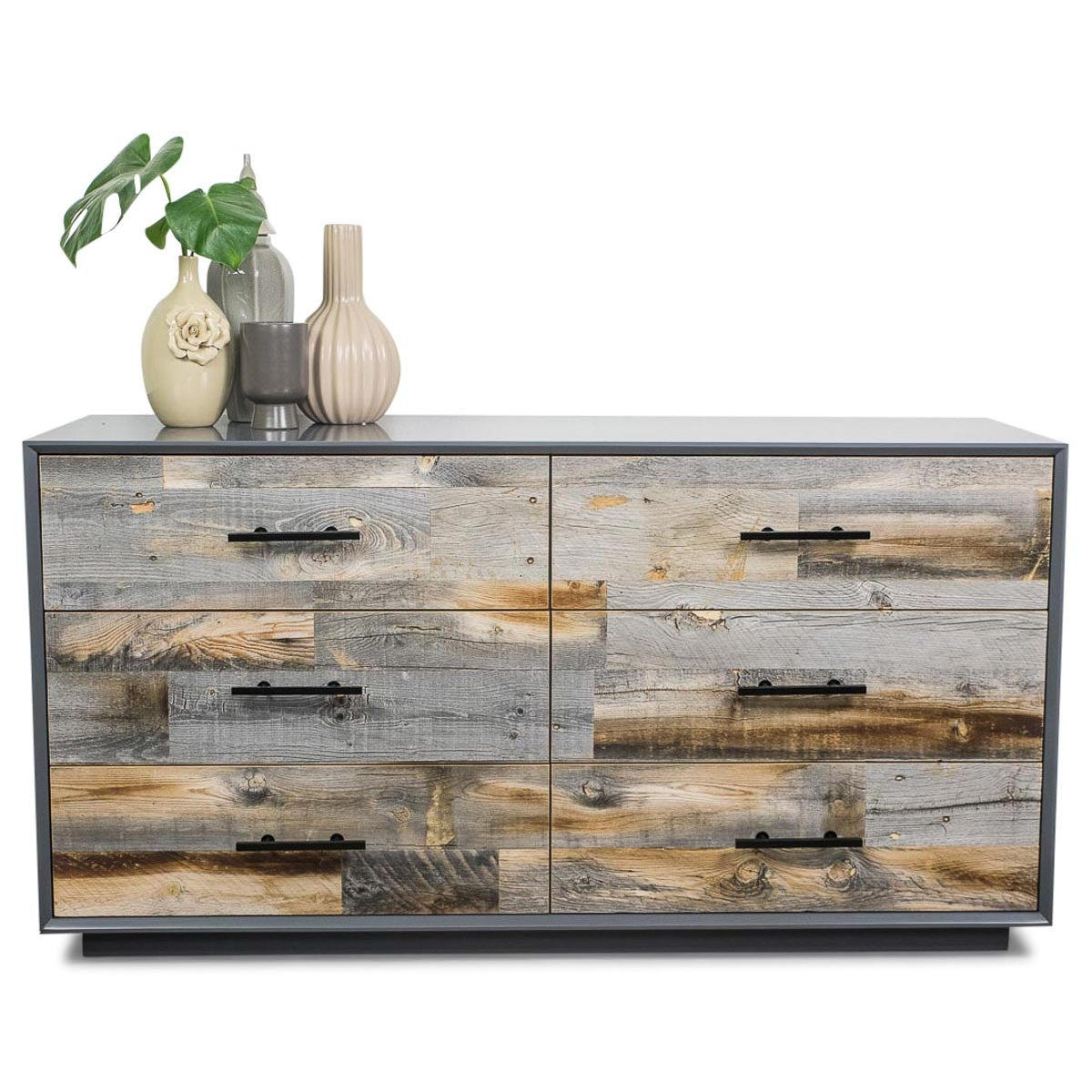 Grey Cody Dresser with Grey Recycled Wood - ModShop1.com