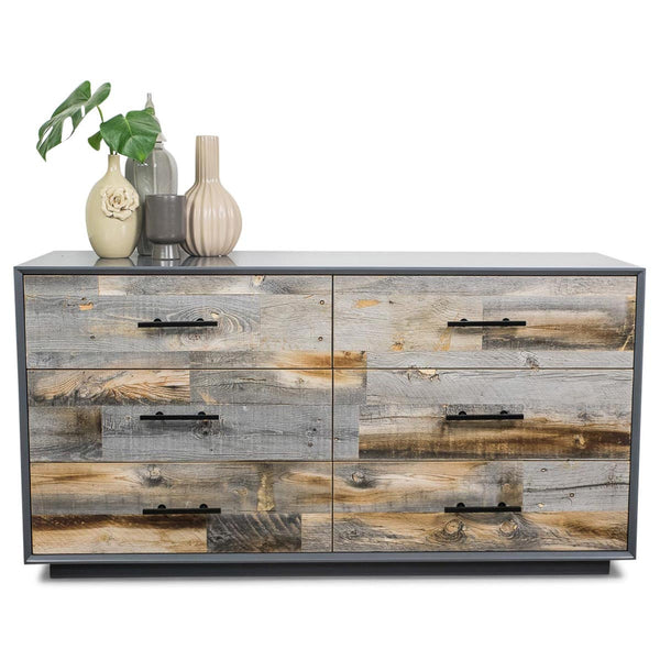 Grey Cody Dresser with Grey Recycled Wood. Buy Modern Dressers with Stylish Storages   ModShop