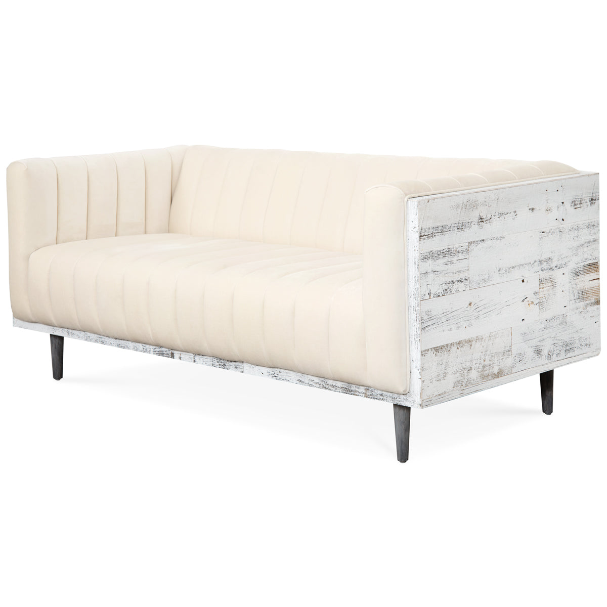 Cody Loveseat with Channel Tufting - ModShop1.com