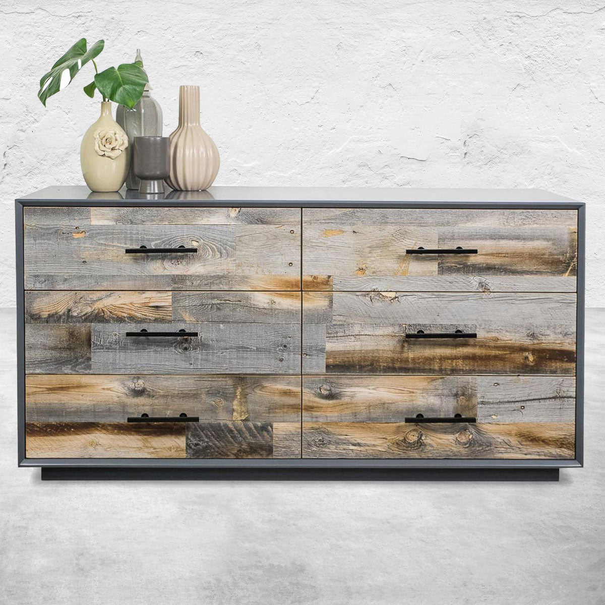 Cody Dresser with Grey Reclaimed Wood