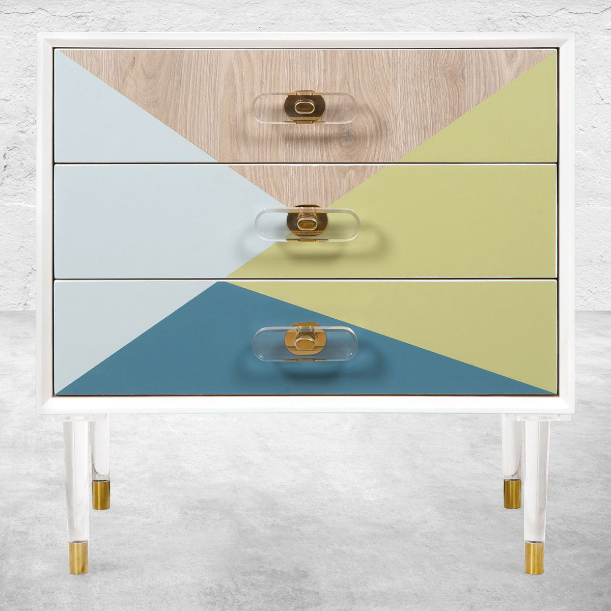 Color Block Side Table
