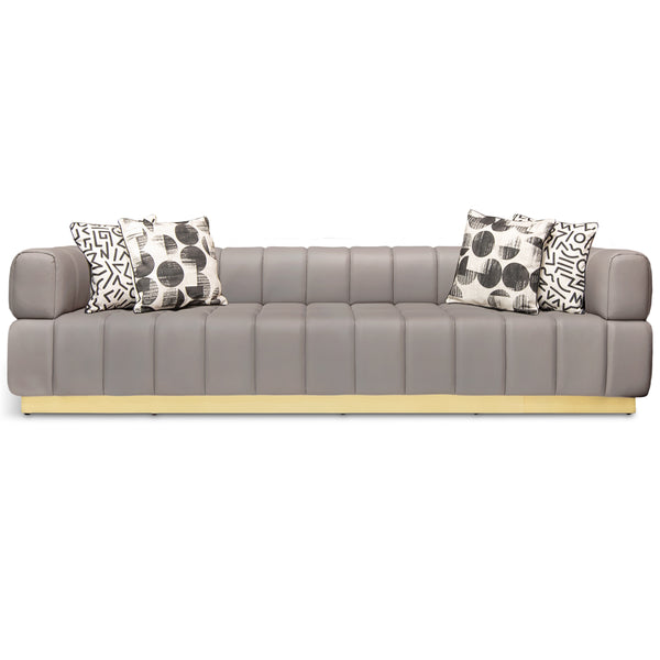 Continental Sofa in Faux Leather