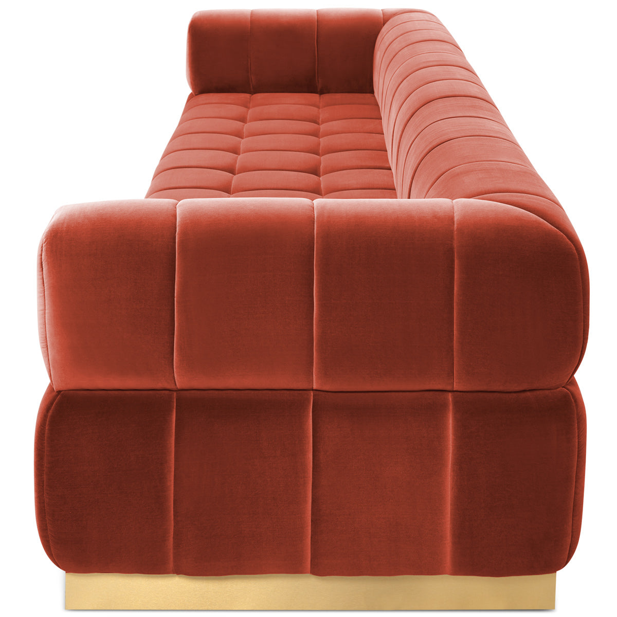 Continental Sofa in Velvet - ModShop1.com